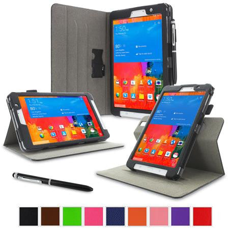 rooCASE - Dual View Folio Case for Samsung Galaxy Tab Pro 8.4, Black