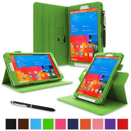 rooCASE - Dual View Folio Case for Samsung Galaxy Tab Pro 8.4, Green