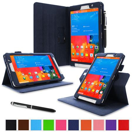 rooCASE - Dual View Folio Case for Samsung Galaxy Tab Pro 8.4, Navy