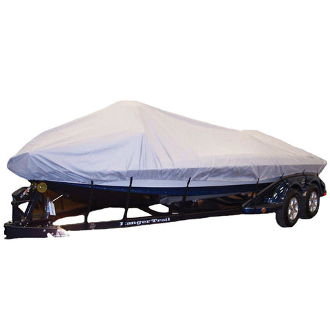 "Dallas Manufacturing Co. Semi-Custmo Boat Cover - V-Hull Fishing - 17'L, 82""W"