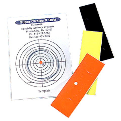 Specialty Archery Circles/Dots Black/Orange/Yellow