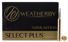 Weatherby B653130SCO Scirocco II 6.5-300 Weatherby Magnum 130 GR Spitzer Boat Tail 20 Bx