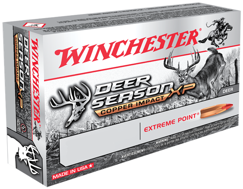 Winchester Ammo X270DSLF Deer Season XP 270 Winchester 130 GR Extreme Point Lead Free 20 Bx/ 10 Cs