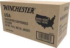 Winchester Ammo USA223LK Best Value 223 Remington/5.56 NATO 55 GR Full Metal Jacket 1000 Rounds - 1000 Rounds