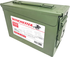 Winchester Ammo USA40AC USA Centerfire 40 Smith & Wesson (S&W) 165 GR Full Metal Jacket 500RD Ammo Can - 500 Rounds