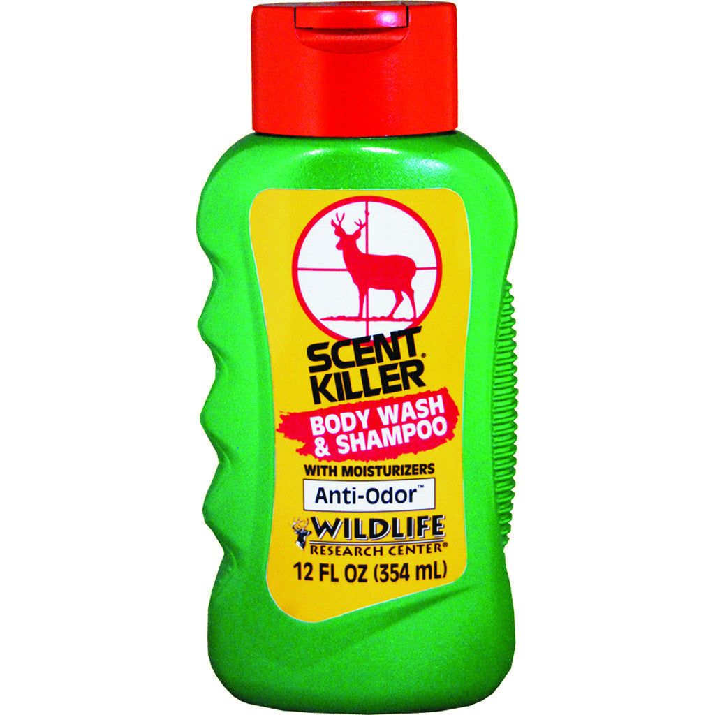 Wildlife Research Scent Killer Shampoo and Body Wash 12 oz.