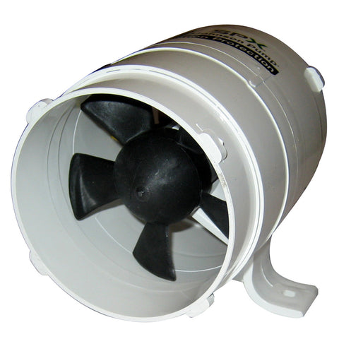 "Johnson Pump 4"" In-Line Blower - 240CFM - 12V"