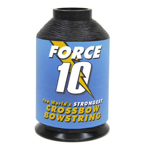 BCY Force 10 Crossbow String Material Black 1/4 lb.