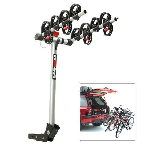ROLA Bike Carrier - TX w/Tilt & Security - Hitch Mount - 4-Bike