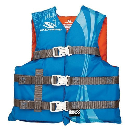 Stearns Pfd 3007 Youth Nyl Opp Blu C006 3000002199