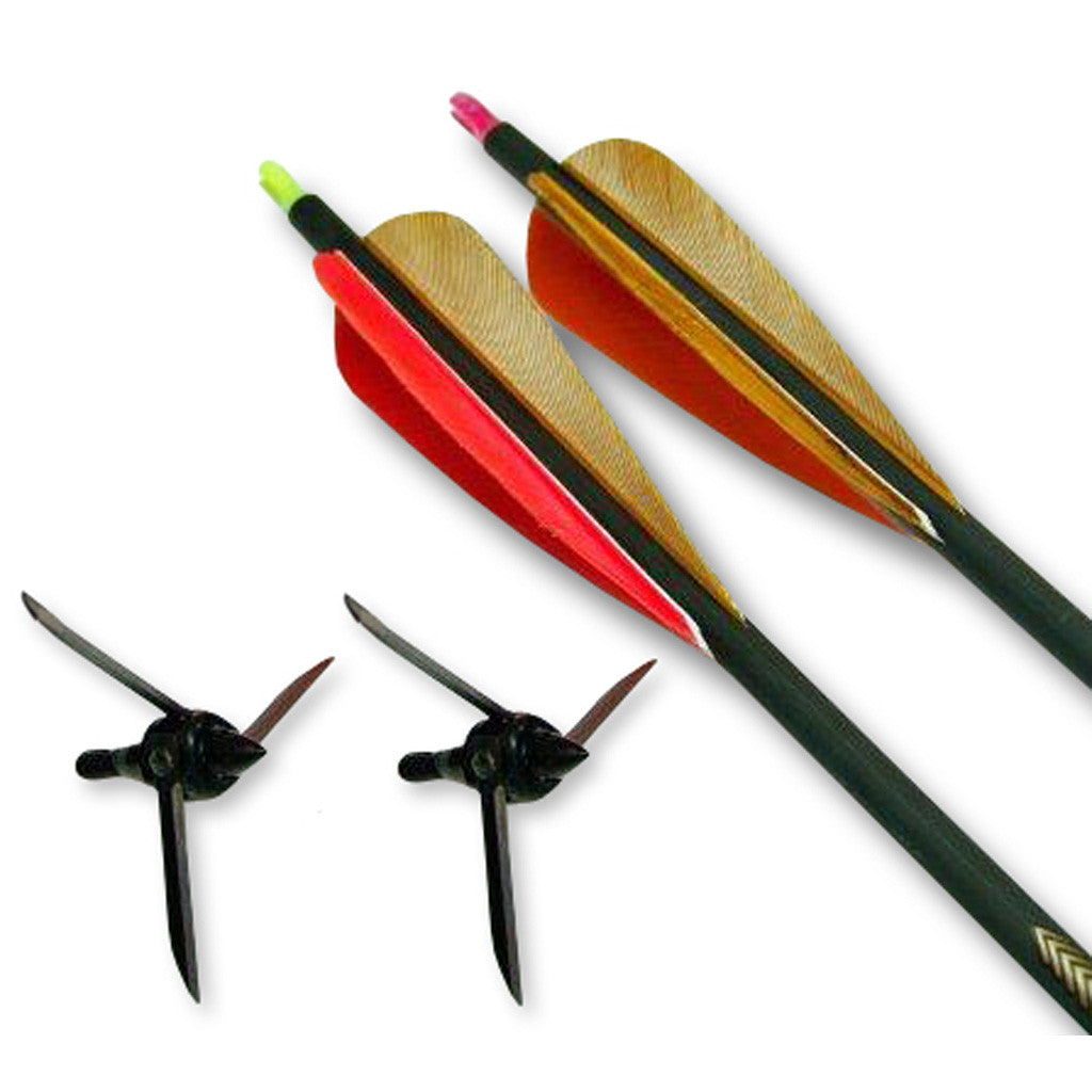 Magnus Bullhead Turkey Bow Kit 2 arrows/2 heads 100gr.