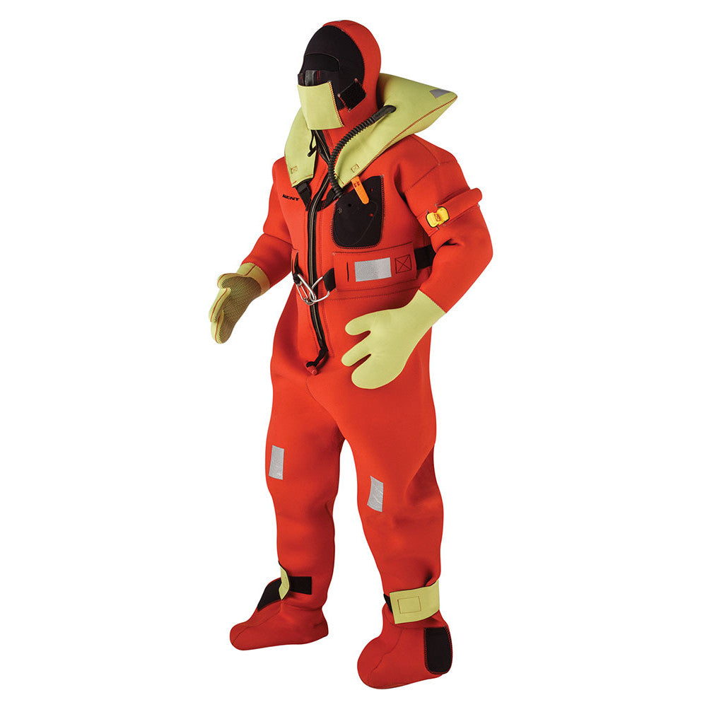 Kent Commercial Immersion Suit - USCG/SOLAS Version - Orange - Small