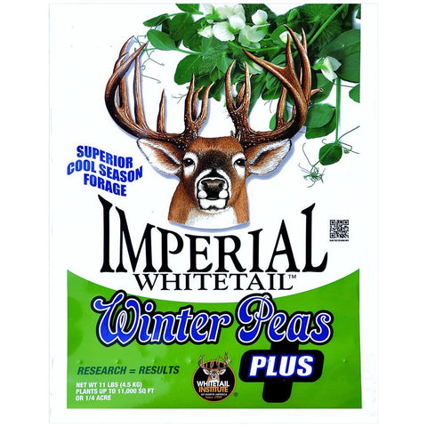 Whitetail Institute Imperial Winter Pea Plus .25 Acre 11 lb