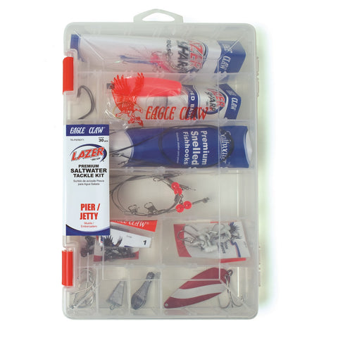 Eagle Claw Pier/Jetty Saltwater Tackle Kit