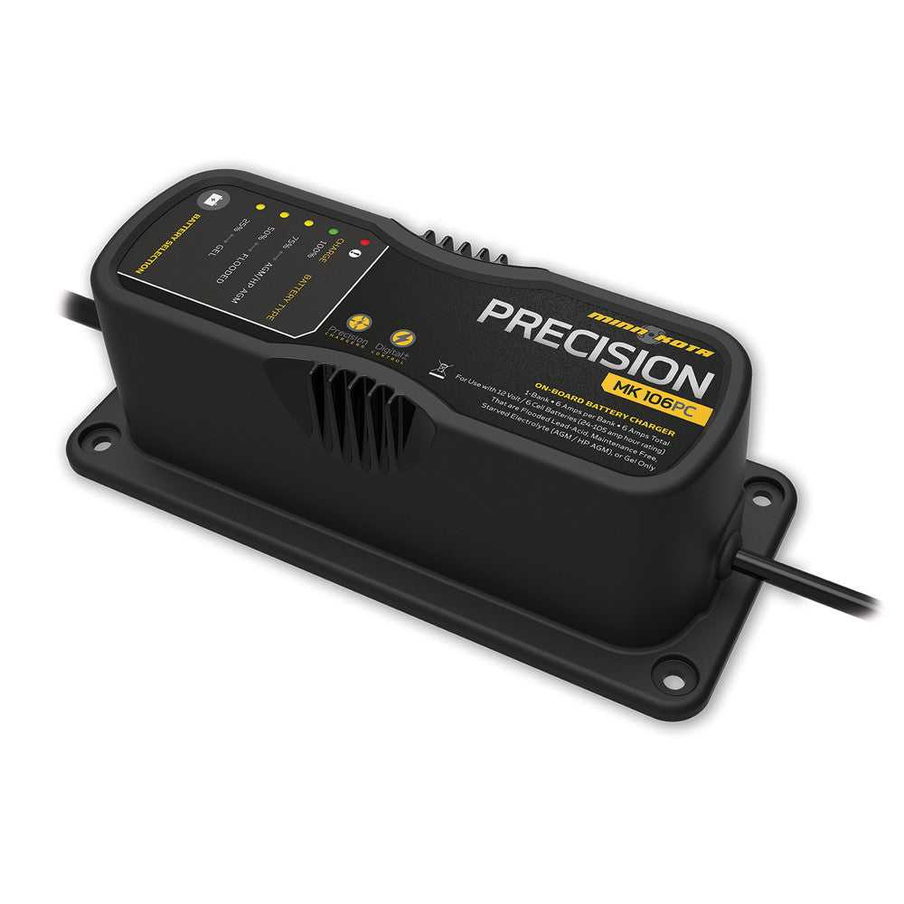 Minn Kota MK106PC 1 Bank x 6 Amp Precision Charger