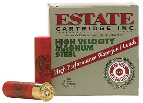 "Estate HVST12MBB High Velocity  12 Gauge 3"" 1 1/4 oz BB Shot 25 Bx/ 10 Cs"
