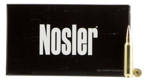 Nosler 60124 Match Grade RDF 22 Nosler 70 GR Hollow Point Boat Tail 20 Bx/ 10 Cs