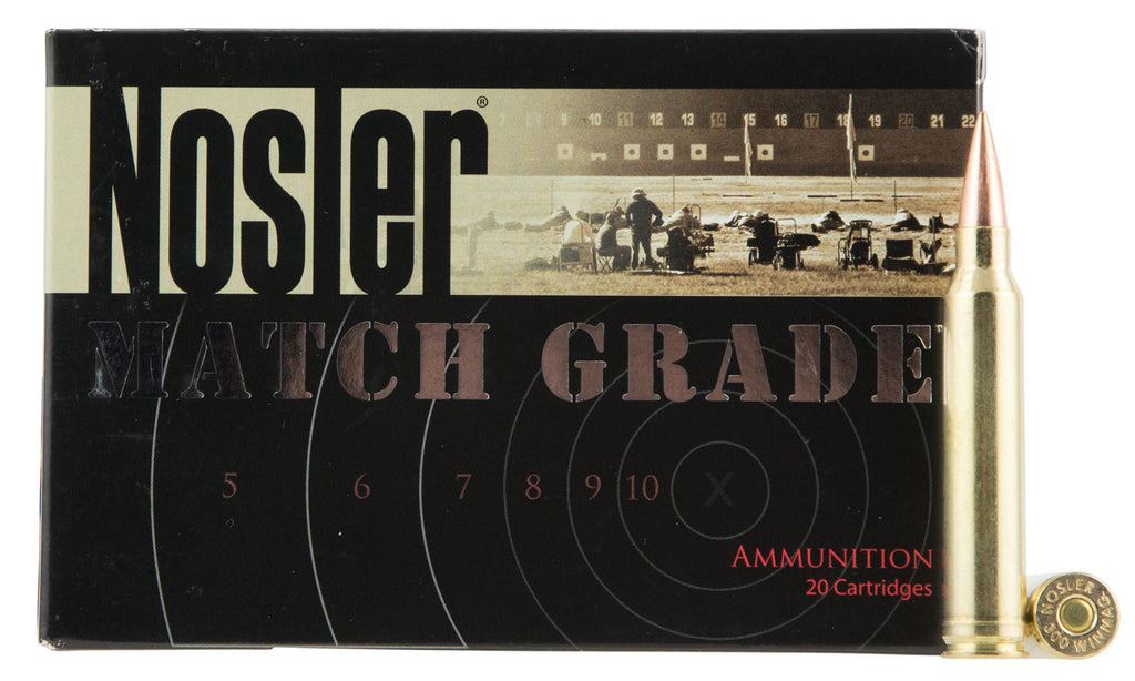 Nosler 60158 Match Grade RDF 300 Winchester Magnum 210 GR Hollow Point Boat Tail 20 Bx/ 10 Cs