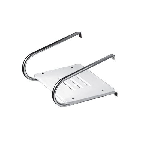 Whitecap White Poly Swim Platform f/Inboard/Outboard Motors