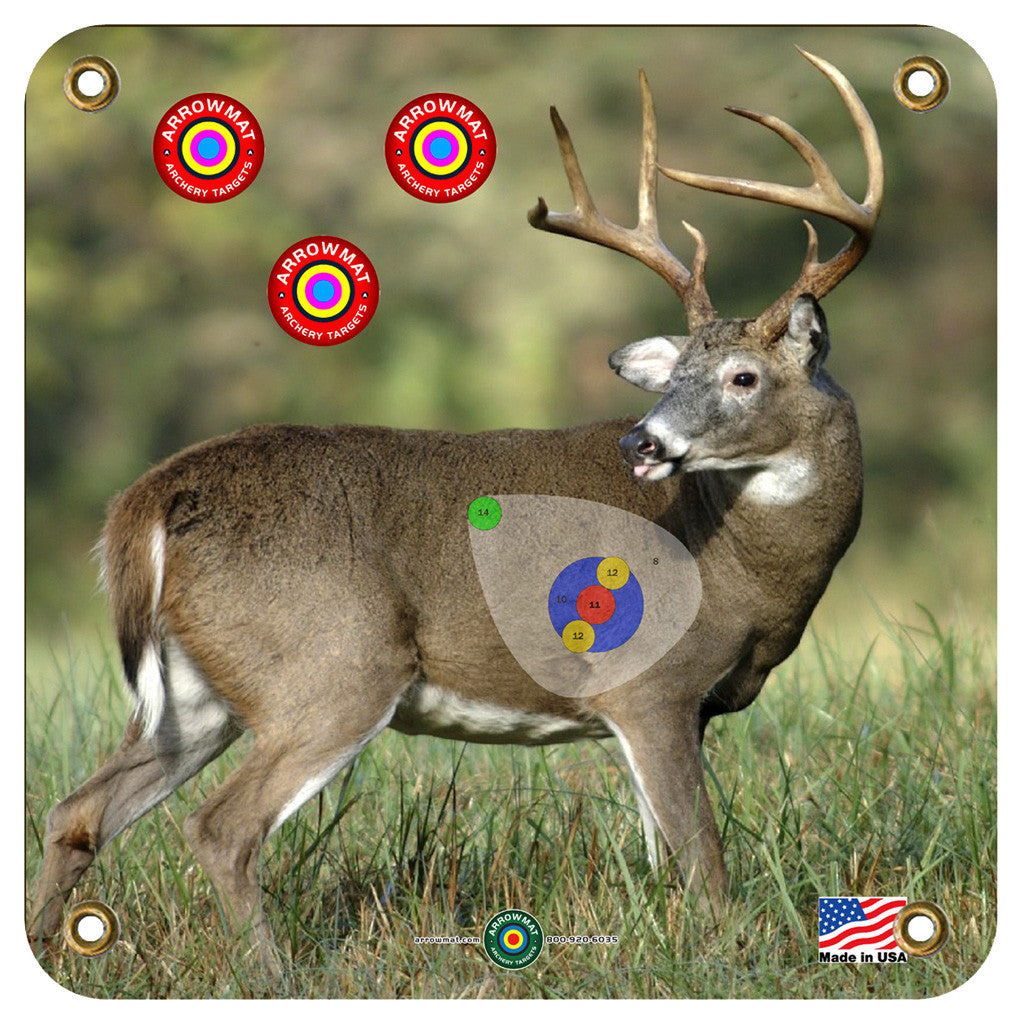 Arrowmat Foam Target Face Big Buck 17x17 in.
