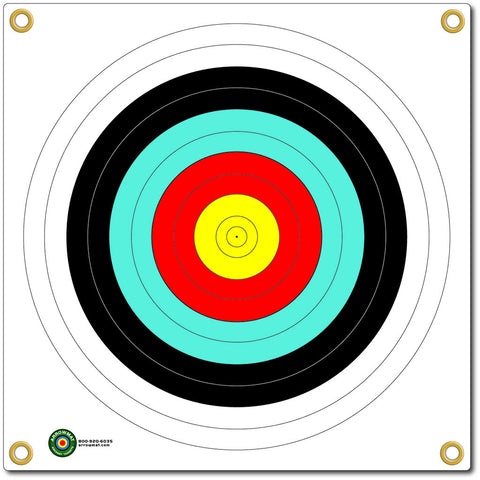 Arrowmat Foam Target Face 4 Color Round 17x17 in.