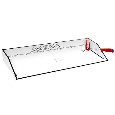 "Magma Bait/Filet Mate Serving/Cutting Table - 31"" - White/Black"