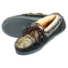 Webers Leather Slippers Realtree AP/Brown 9