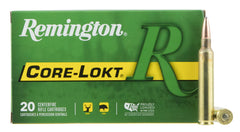 Remington Ammunition R300RUM01   300 Remington Ultra Magnum (RUM) 180 GR Core-Lokt Pointed Soft Point 20 Bx/10 Cs