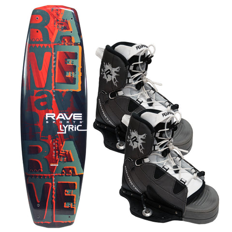 RAVE Lyric Wakeboard with Advantage Boots