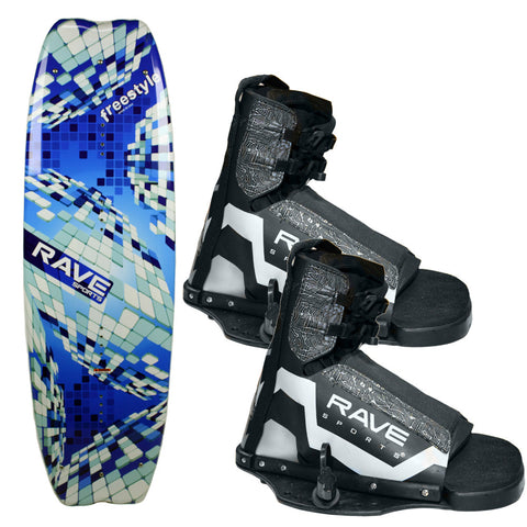 RAVE Freestyle Wakeboard w/Striker Boots
