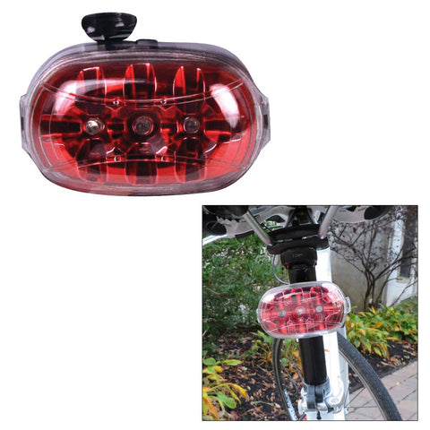 Dorcy 2AA LED Portable Bicycle Tail Light - Red