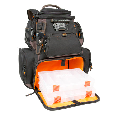 Wild River Tackle Tek™ Nomad XP - Lighted Backpack w/ USB Charging System w/2 PT3600 Trays