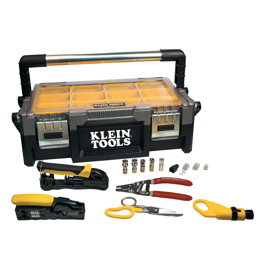 Klein Tools VDV ProTech Data & Coaxial Kit