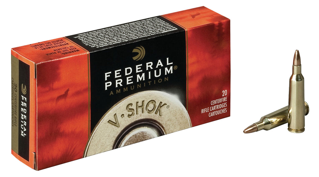 Federal P22250D Premium 22-250 Remington TNT Green 43 GR 20Box/10Case