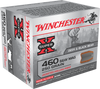 Winchester Ammo X460SW Super-X 460 Smith & Wesson Magnum 250 GR Jacketed Hollow Point 20 Bx/10 Cs