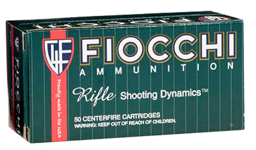 Fiocchi 308B Rifle Shooting Dynamics 308 Win Pointed Soft Point 150 GR 20Bx/10Cs