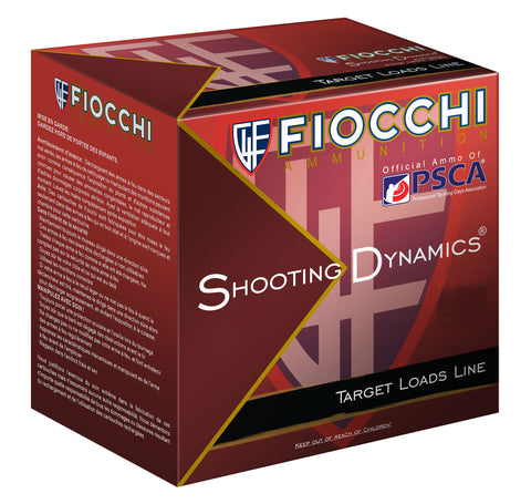 "Fiocchi 12SD1H8 Shooting Dynamics Heavy Dynamic 12 Gauge 2.75"" 1 oz 8 Shot 25 Bx/ 10 Cs"