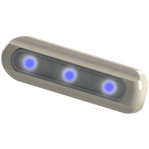 TACO LED Deck Light - Flat Mount - Blue LEDs