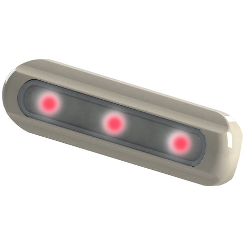 TACO LED Deck Light - Flat Mount - Red LEDs
