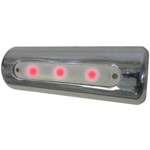 TACO LED Deck Light - Pipe Mount - Red LEDs