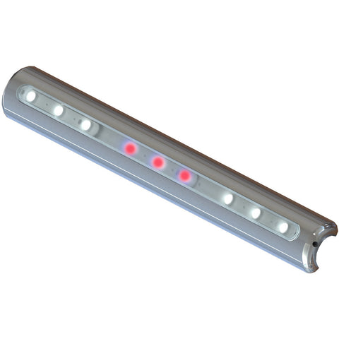 TACO LED T-Top Light - Pipe Mount - White/Red LED