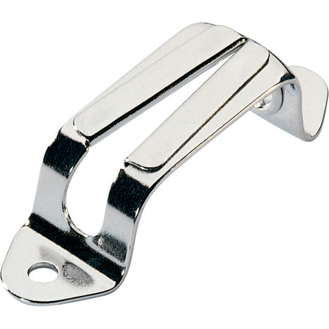 "Ronstan V-Jam Cleat - Stainless Steel - 6mm(1/4"") Max Line Size"