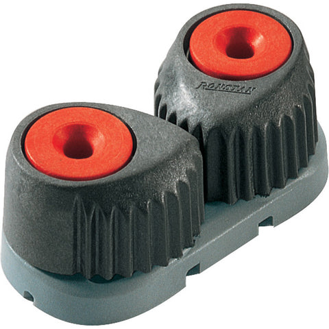 Ronstan T-Cleat Cam Cleat - Small - Red w/Grey Base