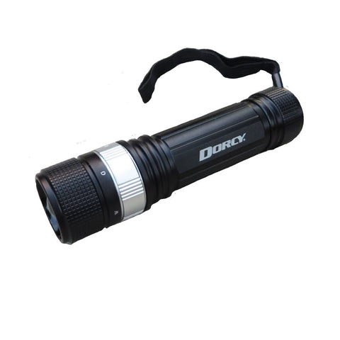 Dorcy Hawkeye II White, Red & Green Beam LED Flashlight