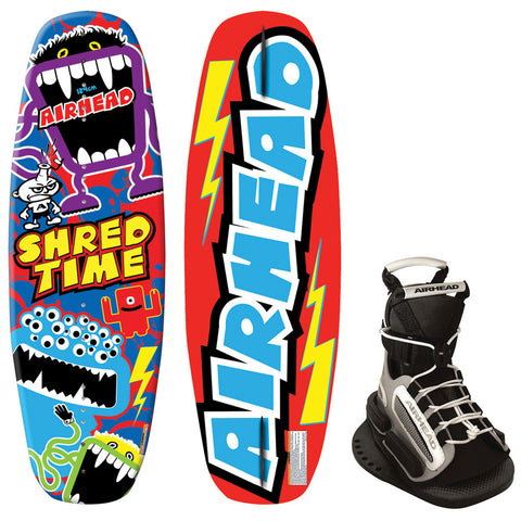 AIRHEAD Shred Time Wakeboard - 124cm w/GRAB Bindings
