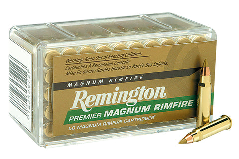 Remington PR22M1 Premier Gold Box 22WinMag AccuTip-V 33 GR 50Box/40Case
