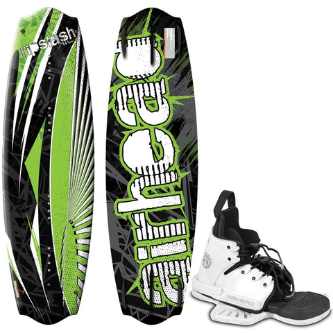 AIRHEAD RipSlash Wakeboard - 141cm w/BOSS Bindings
