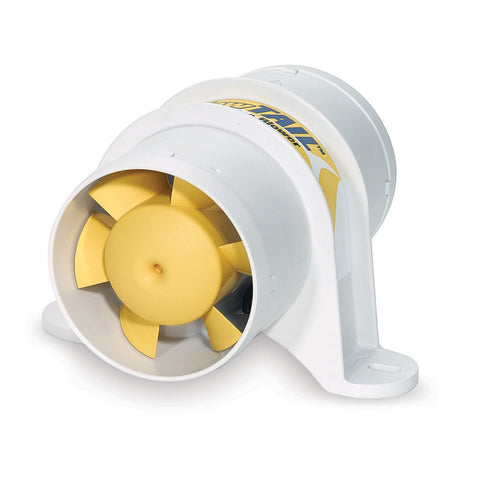 "SHURFLO YELLOWTAIL™ 3"" Marine Blower - 12 VDC, 120 CFM"