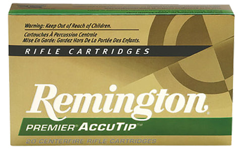 Remington Ammunition PRA17RA Premier 17 Remington AccuTip 20 GR 20Box/10Case