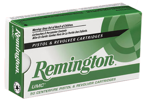 Remington Ammunition L40SW3 UMC 40 Smith & Wesson (S&W) 180 GR Metal Case (FMJ) 50 Bx/ 10 Cs